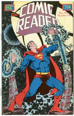 COMIC READER #151 FANZINE (1977) JIM STARLIN SUPERMAN