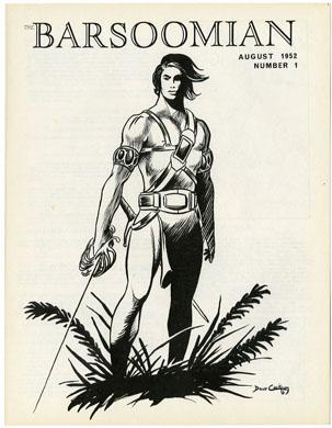 BARSOOMIAN  #1 (1969) BURROUGHS FANZINE  COCKRUM COVER