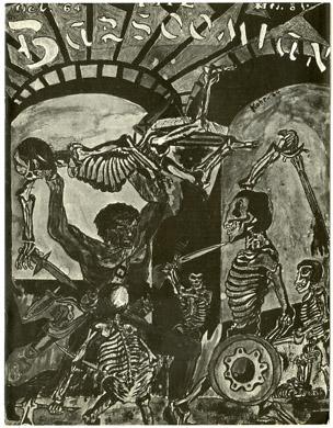 BARSOOMIAN #8 FANZINE 1969 Reprint EDGAR RICE BURROUGHS