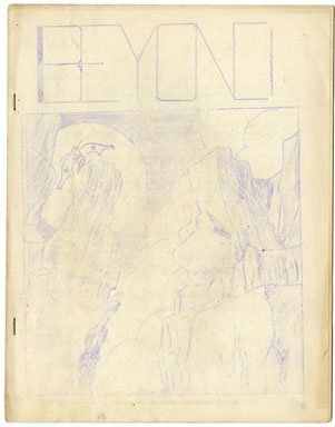 BEYOND #1 FANZINE (1944) EARLY SCIENCE FICTION ZINE