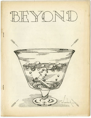 BEYOND #3 FANZINE (1944) EARLY SCIENCE FICTION ZINE