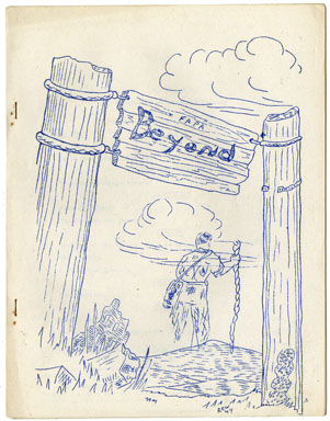 BEYOND #4 FANZINE (1945) EARLY SCIENCE FICTION ZINE