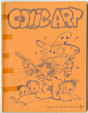 COMIC ART #7 (1968) FANZINE CARL BARKS FILE COPY