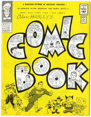 COMIC BOOK #2 (1966) ALAN HANLEY FANZINE Goodguy
