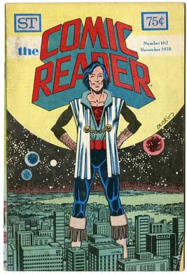COMIC READER #162 FANZINE (1978) Terry AUSTIN Cover