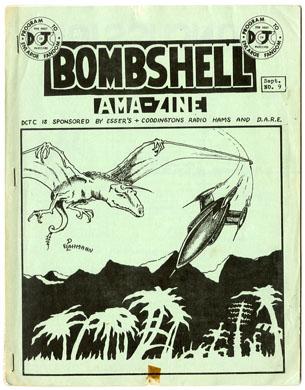 BOMBSHELL #9 FANZINE (1967) IMMORTAL CORPSE