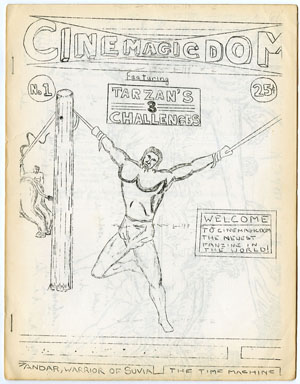 CINEMAGICDOM #1 FANZINE (1964) TARZAN TIME MACHINE