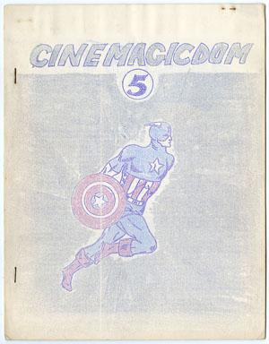CINEMAGICDOM #5 FANZINE (1964) CAPT. AMERICA FINAL ISH