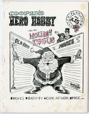 HERO-HOBBY #15 (1968) FANZINE CHRISTMAS ISSUE