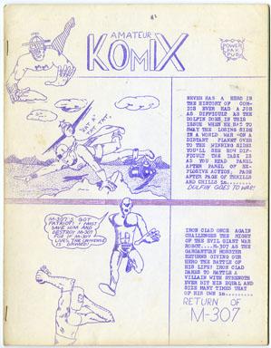 AMATEUR KOMIX #2 FANZINE (1965) GEMIGNANI Gary ACORD