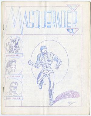 MASQUERADER #2 FANZINE (1962) VOSBURG RONN FOSS KELTNER