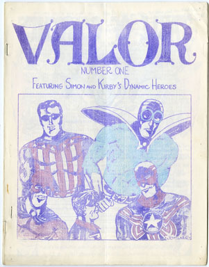 VALOR #1 FANZINE (1965) SIMON-KIRBY / SPIDER-MAN SPOOF