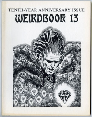 WEIRDBOOK #13 FANZINE (1978) D. BRUCE BERRY GENE DAY