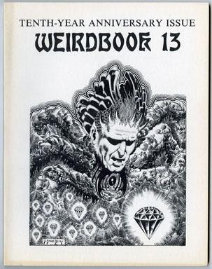 WEIRDBOOK #13 FANZINE (1978) D. BRUCE BERRY GENE DAY