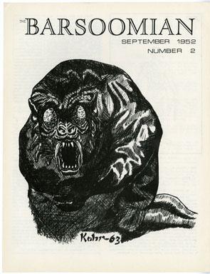 BARSOOMIAN #2 FANZINE (1969) EDGAR RICE BURROUGHS