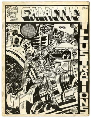 GALACTIC ILLUSTRATIONS #1 FANZINE (1968)