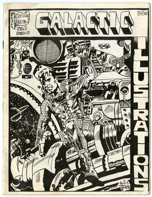 GALACTIC ILLUSTRATIONS #1 (1968) FANZINE