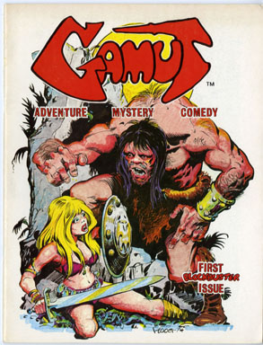 GAMUT #1 (1975) FANZINE PLOOG JEFF JONES WRIGHTSON RUST
