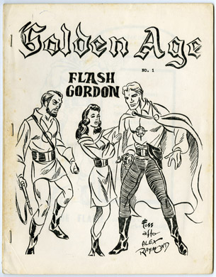 GOLDEN AGE #1 (1965) G.B. LOVE FANZINE Ronn FOSS Weiss