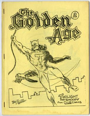 GOLDEN AGE #2 (1966) FANZINE BILJO WHITE Ronn FOSS Art