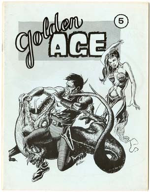 GOLDEN AGE #5 FANZINE (1969) DON NEWTON Cvr/Artwork