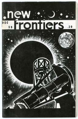 NEW FRONTIERS #1 FANZINE (1959) SCIENCE FICTION