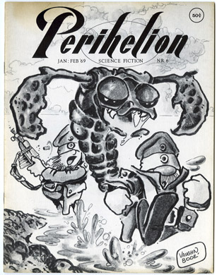 PERIHELION #6 (1969) FANZINE 1st DEAN KOONTZ STORY Bode