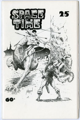 SPACE & TIME #25 FANZINE (1974) BRENT ANDERSON Cover
