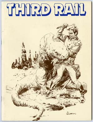 THIRD RAIL #1 FANZINE 1981 BISSETTE CRANDALL WILLIAMSON