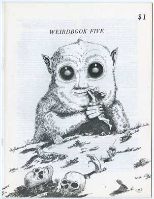 WEIRDBOOK #5 (1972) FANZINE AMA-FICTION ZINE
