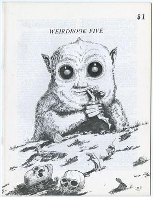 WEIRDBOOK #5 (1972) FANZINE AMA-FICTION ZINE