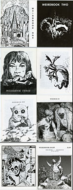 WEIRDBOOK #1 - 8 (1969-1974) FANZINE LOT VF/NM COPIES