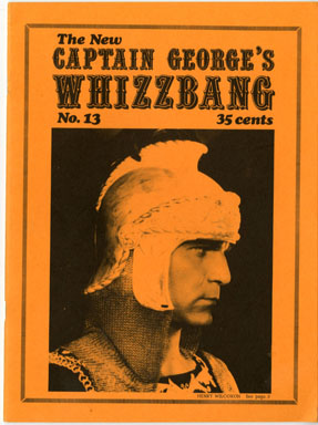 WHIZZBANG #13 FANZINE AUDIE MURPHY KIRK ALYN COSMO 1971