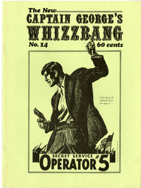 WHIZZBANG #14 FANZINE ROY ROGERS OPERATOR 5 (1971)