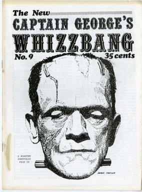 WHIZZBANG # 9 FANZINE FRANKENSTEIN HOPALONG CASSIDY '70