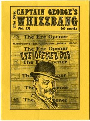 WHIZZBANG #15 FANZINE (1973) TARZAN