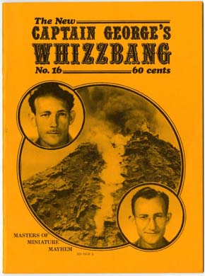 WHIZZBANG #16 FANZINE (1973) G-8 & BATTLE ACES