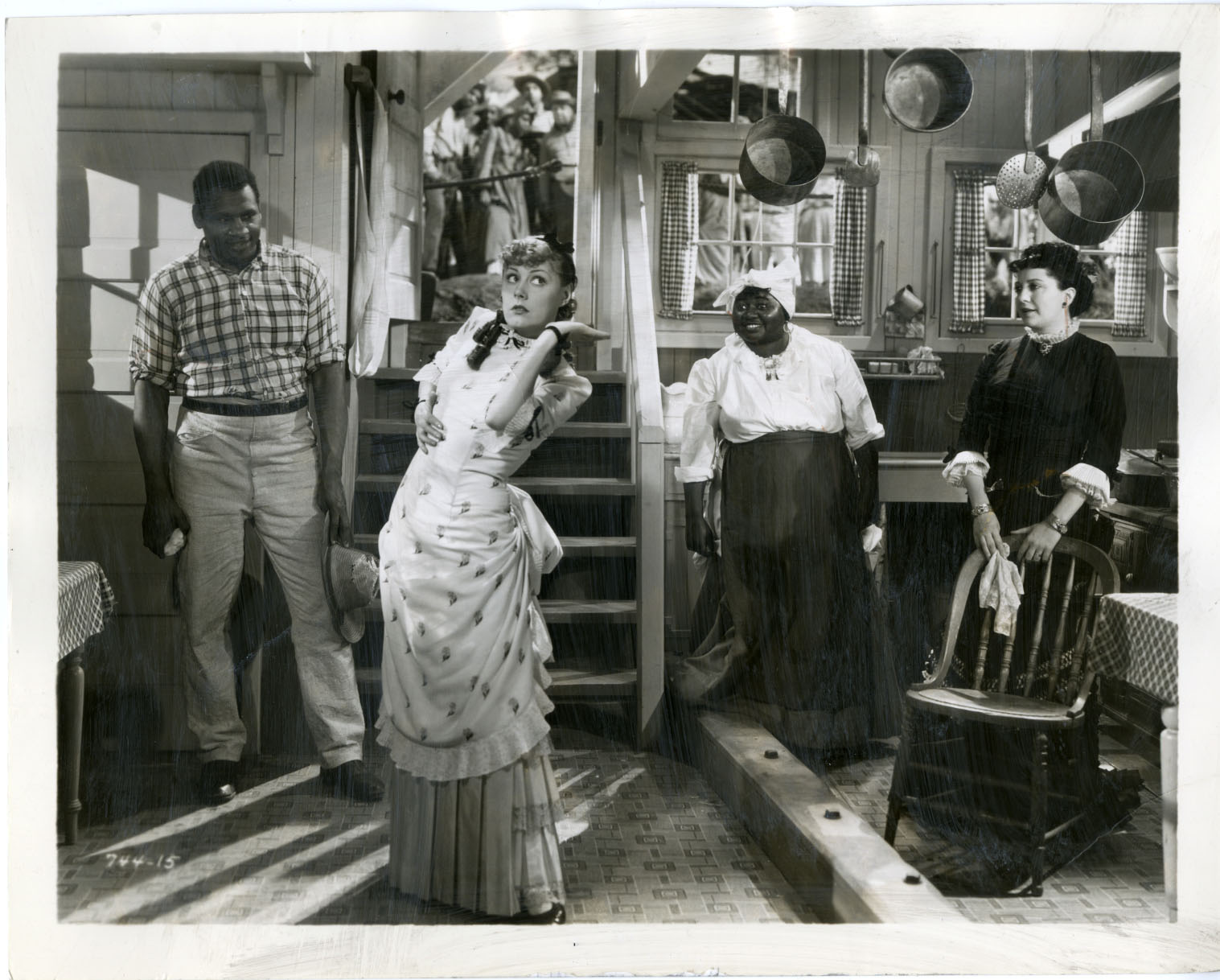 Hattie McDaniel showboat