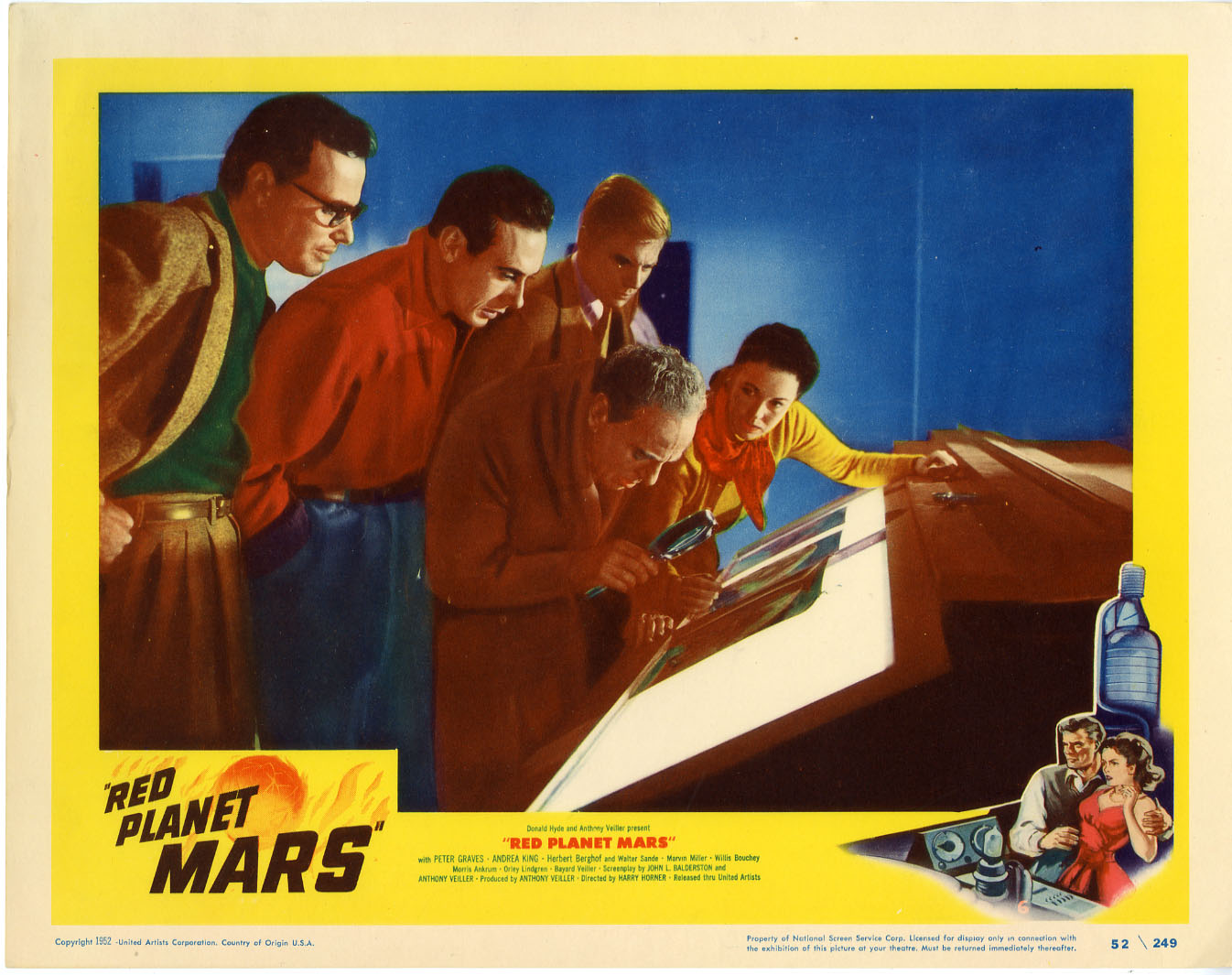 1954 mars red planet - photo #32