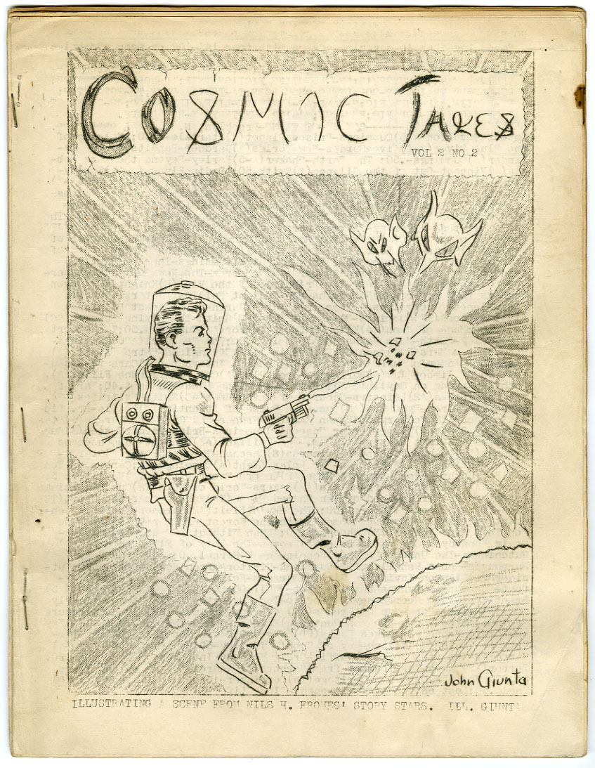 COSMIC TALES #14 (V2 #2) FANZINE (1940) SCIENCE FICTION / HARRY WARNER