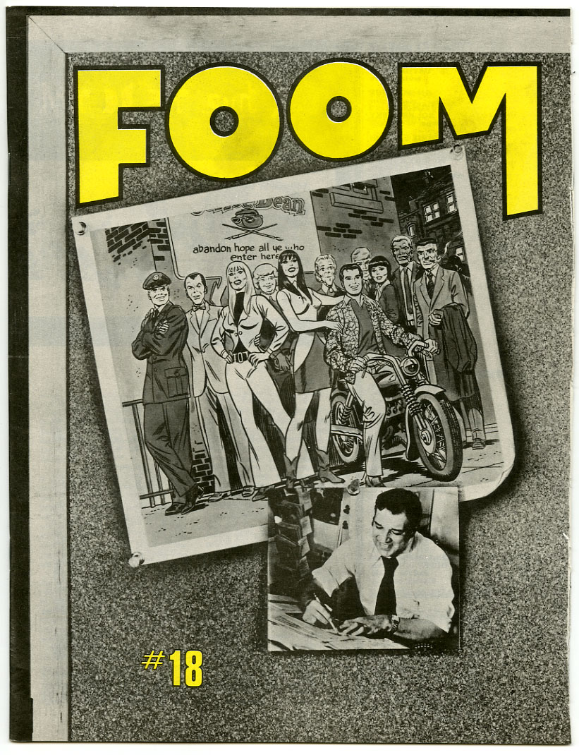 FOOM #18 (1977) FANZINE / JOHN ROMITA INTERVIEW / MARVEL IN EUROPE