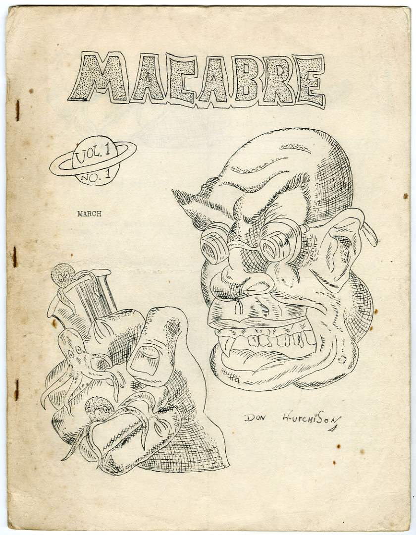 MACABRE #1 (1948) FANZINE SCIENCE FICTION / FORREST J. ACKERMAN / BILL ROTSLER