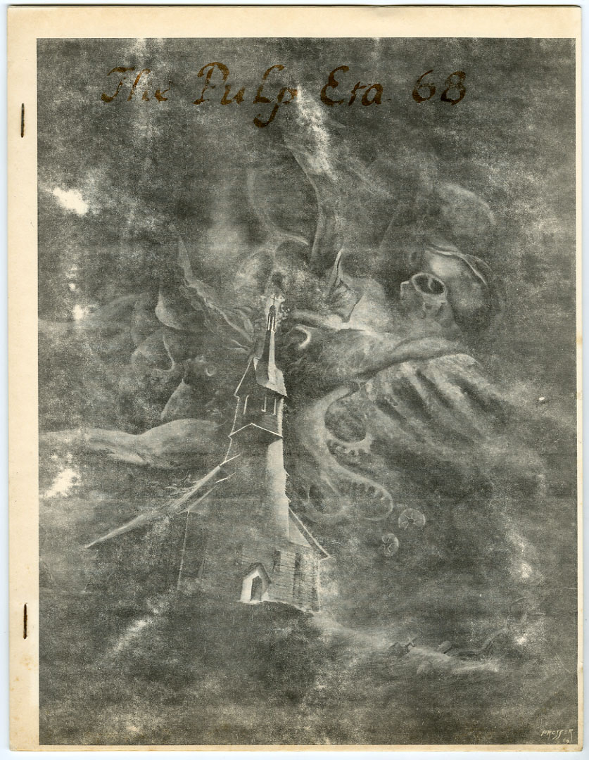 PULP ERA #68 (1967) FANZINE / PULP MAGAZINES / HERSHEY PULPS / ACE MYSTERY