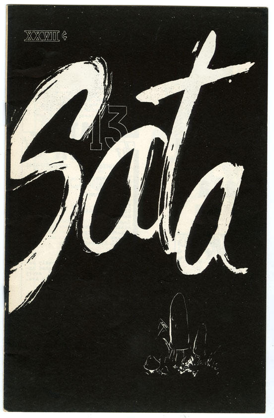 SATA ILLUSTRATED #13 FANZINE (1961) LARRY IVIE / ROGER BRAND / ROY KRENKEL