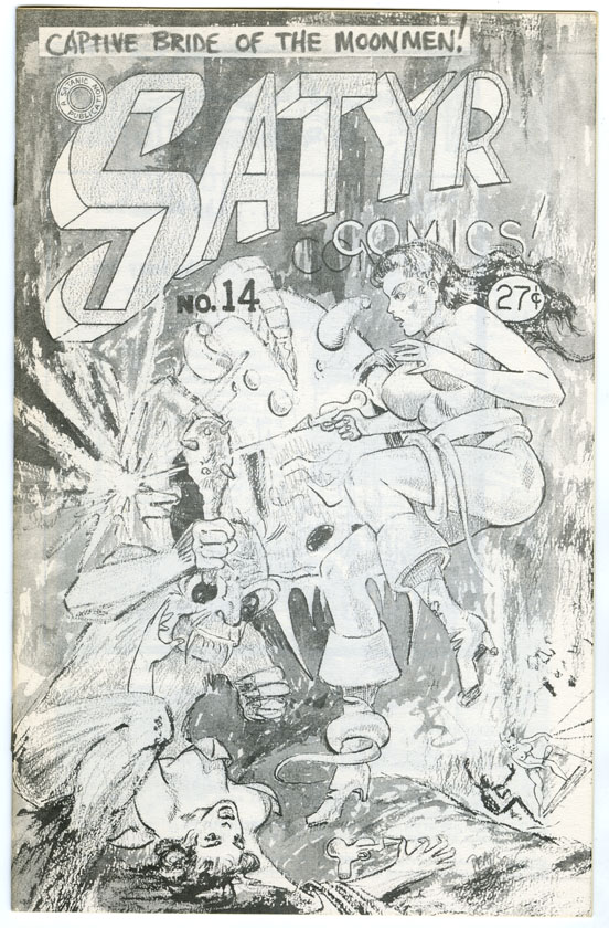SATA ILLUSTRATED (SATYR COMICS) #14 FANZINE (1963) LARRY IVIE/GEORGE BARR/TARZAN