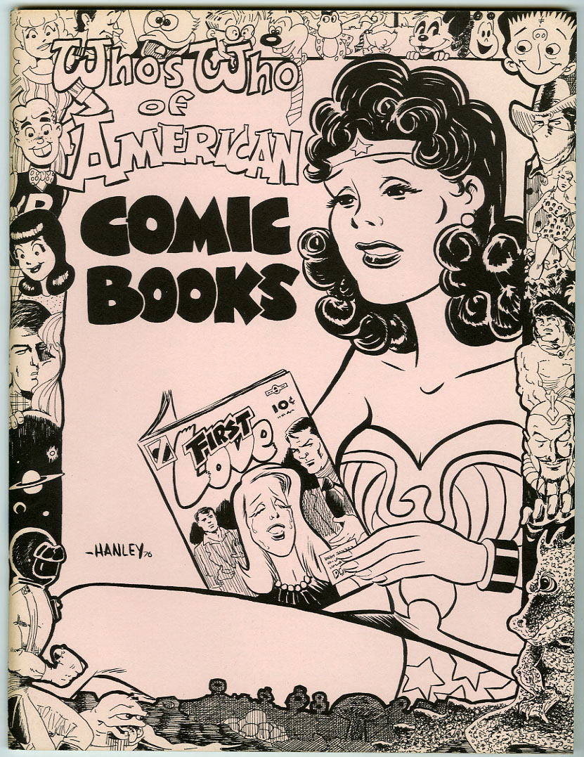 WHO'S WHO OF AMERICAN COMIC BOOKS VOL. 4 (1976) FANZINE / JERRY G. BAILS