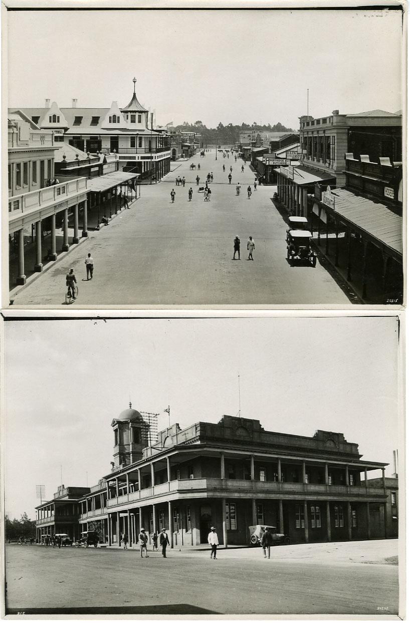 NEWS PHOTO: SALSIBURY, RHODESIA / AFRICA VINTAGE (1925)
