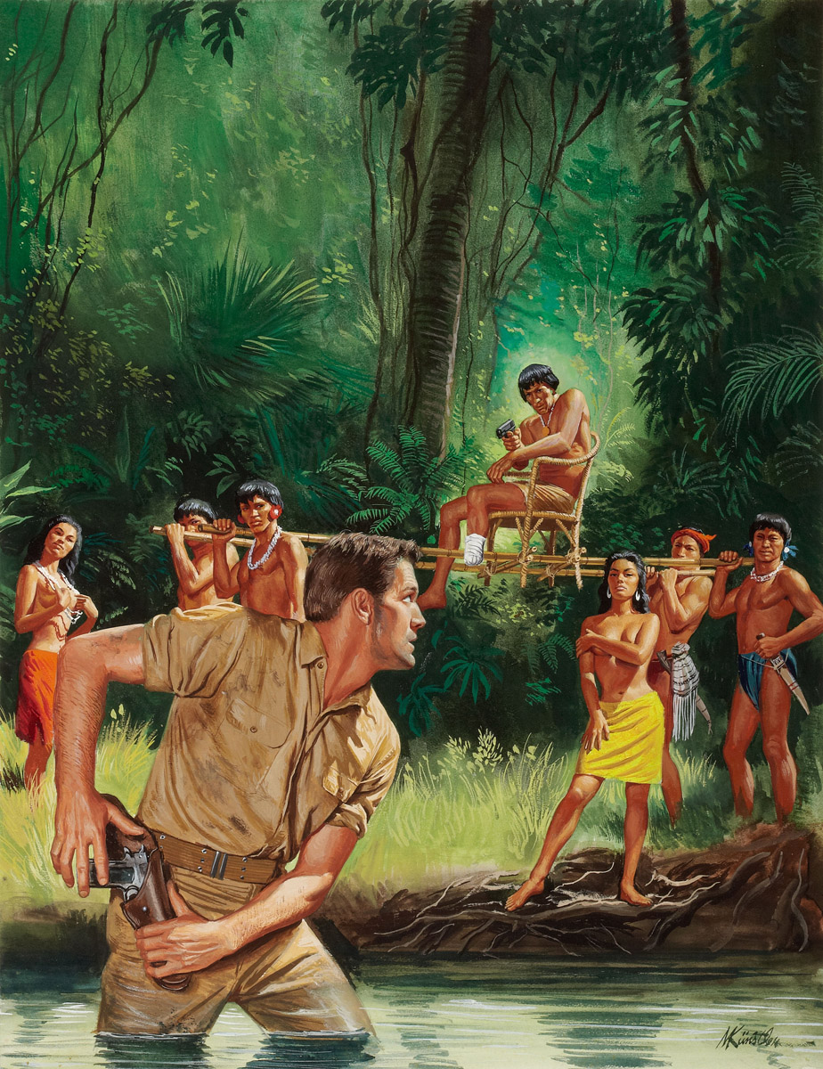 3d jungle tribe captures girl naked videos