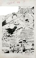 BOB FUJITANI - SPEED COMICS #34 CMPLT 8-PG STORY ART