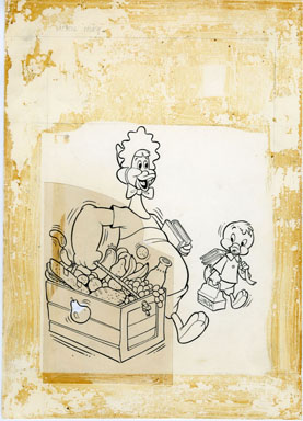 WARREN KREMER - BABY HUEY THE BABY GIANT #63 COVER ORIGINAL ART (1965)